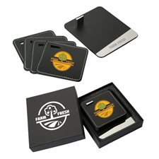 brew bud coaster set