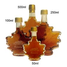 MAPLE SYRUP IN LEAF BOTTLE-100 ml
